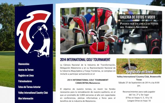 2014 International Golf Tournament :: Canacintra Matamoros